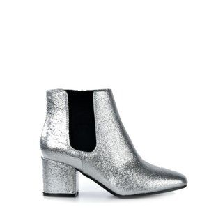 Bamboo Silver Booties